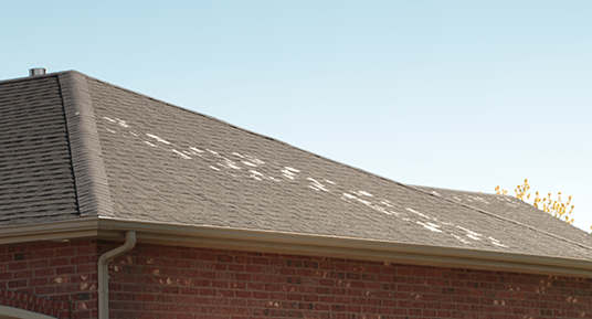 Roof Warranty can cover unforeseen damage